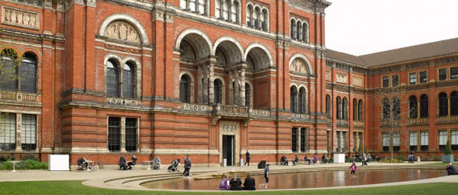 Victoria and Albert Museum, London. Photograph by Polly Braden.