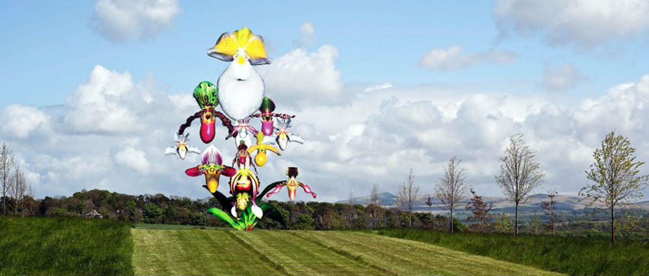 Marc Quinn, Love Bomb, 2016. Courtesy of the artist, photograph by Keith Hunter