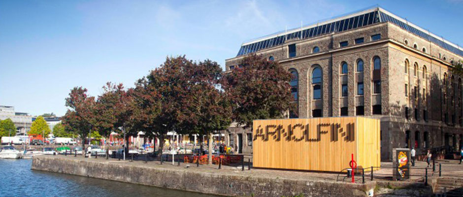 Arnolfini, Bristol. Photograph by Jamie Woodley